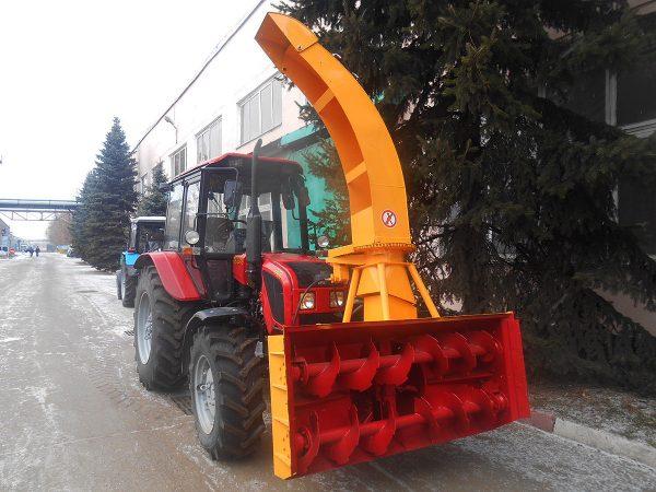 Снегоочиститель Шнекороторный ФРС-200М ГР С Гидравлическим Поворотом Желоба